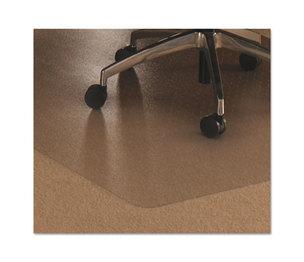 Floortex 1115223ER Cleartex Ultimat Polycarbonate Chair Mat for Low/Medium Pile Carpet, 48 x 60 by FLOORTEX