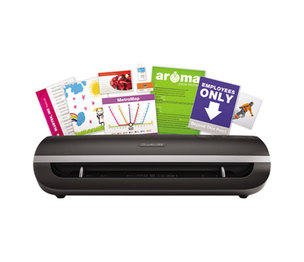"Swingline 1703077 Fusion 5000L Laminator, 12"" Wide, 10mil Maximum Document Thickness by SWINGLINE"