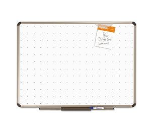 Quartet TE561T Prestige Total Erase Whiteboard, 24 x 18, White Surface, Euro Titanium Frame by QUARTET MFG.