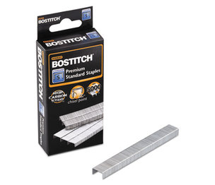 "Stanley-Bostitch Office Products SBS191/4CP Standard Staples, 1/4"" Leg Length, 5000/Box by STANLEY BOSTITCH"