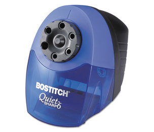 Stanley-Bostitch Office Products BOS-EPS10HC QuietSharp 6 Classroom Electric Pencil Sharpener, Blue by STANLEY BOSTITCH