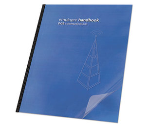Swingline 2000036 Clear View Presentation Binding System Cover, 11-1/4 x 8-3/4, Clear, 100/Box by SWINGLINE