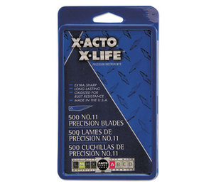 ELMER'S PRODUCTS, INC X511 #11 Bulk Pack Blades for X-Acto Knives, 500/Box by HUNT MFG.