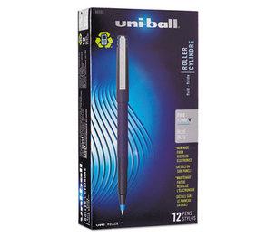 Sanford, L.P. 60103 Roller Ball Stick Dye-Based Pen, Blue Ink, Fine, Dozen by SANFORD