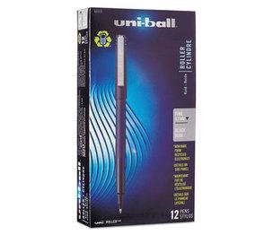 Sanford, L.P. 60101 Roller Ball Stick Dye-Based Pen Black Ink, Fine, Dozen by SANFORD