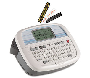 Brother Industries, Ltd PT90 PT-90 Simply Stylish Personal Labeler, 2 Lines, 6-1/10w x 4-1/10d x 2-1/5h by BROTHER INTL. CORP.