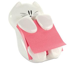 3M CAT330 Pop-Up Note Dispenser Cat Shape, 3 x 3, White by 3M/COMMERCIAL TAPE DIV.