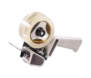 "3M H180 H180 Box Sealing Pistol Grip Tape Dispenser, 3"" Core, Plastic/Metal, Gray by 3M/COMMERCIAL TAPE DIV."