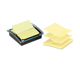3M DS440-SSVP Pop-up Note Dispenser/Value Pack, 4 x 4 Self-Stick Notes, Black by 3M/COMMERCIAL TAPE DIV.