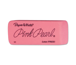 Sanford, L.P. 70521 Pink Pearl Eraser, Large, 12/Box by SANFORD