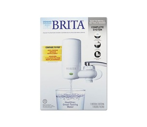 CLOROX SALES CO. 42201 On Tap Faucet Water Filter System, White by CLOROX SALES CO.