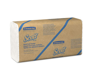 Kimberly-Clark Corporation 01807 Multi-Fold Paper Towels, 9 1/5 x 9 2/5, 250/Pack, 16 Packs/Carton by KIMBERLY CLARK