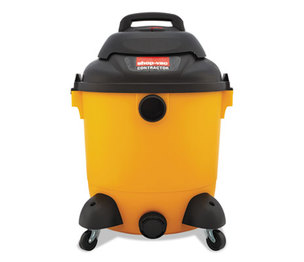 Shop-Vac Corporation 9625110 Economical Wet/Dry Vacuum, 12gal Capacity, 23lb, Black/Yellow by SHOPVAC