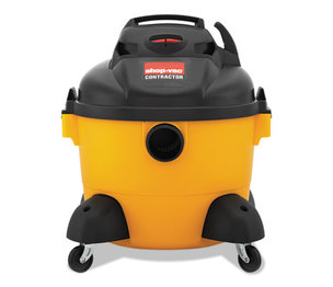 Shop-Vac Corporation 9650610 Right Stuff Wet/Dry Vacuum, 8 Amps, 19lbs, Yellow/Black by SHOPVAC