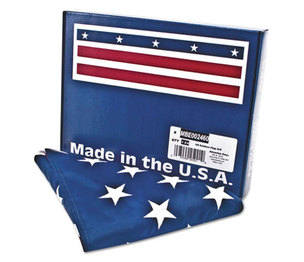 Advantus Corporation MBE002460 All-Weather Outdoor U.S. Flag, Heavyweight Nylon, 3 ft x 5 ft by ADVANTUS CORPORATION