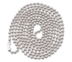 "Advantus Corporation 75417 ID Badge Holder Chain, Ball Chain Style, 36"" Long, Nickel Plated, 100/Box by ADVANTUS CORPORATION"
