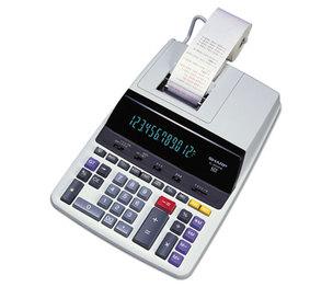 Sharp Electronics EL2630PIII EL2630PIII Two-Color Printing Calculator, Black/Red Print, 4.8 Lines/Sec by SHARP ELECTRONICS