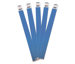 Advantus Corporation 75442 Crowd Management Wristbands, Sequentially Numbered, Blue, 100/Pack by ADVANTUS CORPORATION