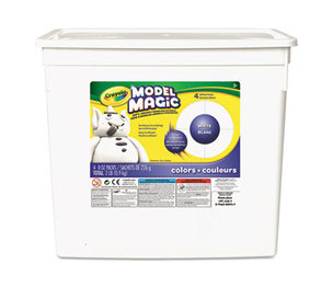 BINNEY & SMITH / CRAYOLA 574400 Model Magic Modeling Compound, 8 oz each packet, White, 2 lbs. by BINNEY & SMITH / CRAYOLA