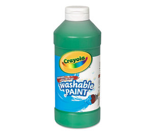Washable Paint, Green, 16 oz by BINNEY & SMITH / CRAYOLA