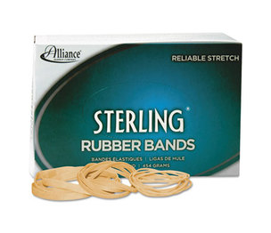 Alliance Rubber Company 24105 Sterling Rubber Bands Rubber Band, 10, 1-1/4 x 1/16, 5000 Bands/1lb Box by ALLIANCE RUBBER
