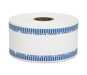MMF INDUSTRIES 2160651B08 Automatic Coin Rolls, Nickels, $2, 1900 Wrappers/Roll by MMF INDUSTRIES