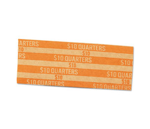MMF INDUSTRIES 216020016 Flat Coin Wrappers, Quarters, $10, 1000 Wrappers/Box by MMF INDUSTRIES