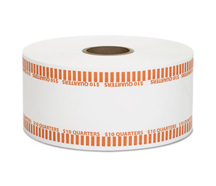 MMF INDUSTRIES 2160651D16 Automatic Coin Rolls, Quarters, $10, 1900 Wrappers/Roll by MMF INDUSTRIES