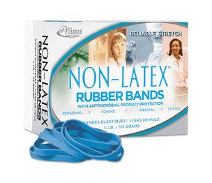 Alliance Rubber Company 42649 Antimicrobial Non-Latex Rubber Bands, Sz. 64, 3-1/2 x 1/4, 1/4lb Box by ALLIANCE RUBBER