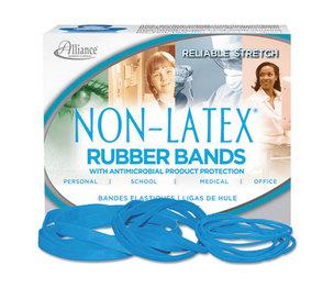 Alliance Rubber Company 42179 Antimicrobial Non-Latex Rubber Bands, Sz. 117B, 7 x 1/8, .25lb Box by ALLIANCE RUBBER