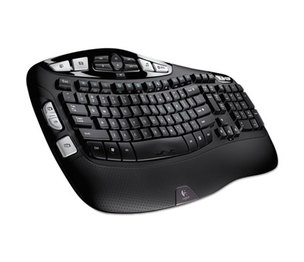 Logitech 920-001996 K350 Wireless Keyboard, Black by LOGITECH, INC.