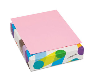 Mohawk Fine Papers, Inc 101311 BriteHue Multipurpose Colored Paper, 20lb, 8 1/2 x 11, Ultra Pink, 500 Shts/Rm by MOHAWK FINE PAPERS