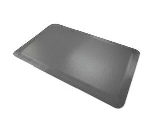 Millennium Mat Company, LLC 44020350 Pro Top Anti-Fatigue Mat, PVC Foam/Solid PVC, 24 x 36, Gray by MILLENNIUM MAT COMPANY