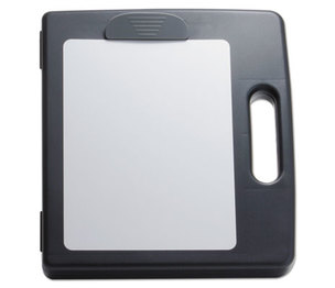 """OFFICEMATE INTERNATIONAL CORP. 83382 Portable Dry Erase Clipboard Case, 4 Compartments, 1/2"""" Capacity, Charcoal by OFFICEMATE INTERNATIONAL CORP."""