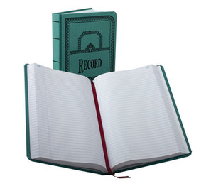 ESSELTE CORPORATION 66-500-R Record/Account Book, Record Rule, Blue, 500 Pages, 12 1/8 x 7 5/8 by ESSELTE PENDAFLEX CORP.