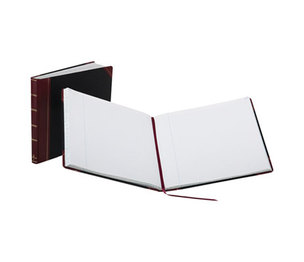 ESSELTE CORPORATION 25-300-R Record Ruled Book, Black Cover, 300 Pages, 15 1/8 x 12 7/8 by ESSELTE PENDAFLEX CORP.