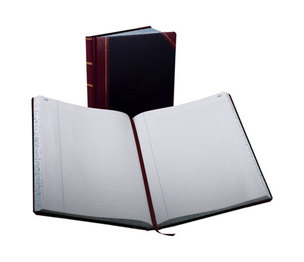 ESSELTE CORPORATION 23-300-R Record Ruled Book, Black Cover, 300 Pages, 10 7/8 x 14 1/8 by ESSELTE PENDAFLEX CORP.