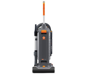 "HOOVER COMPANY CH54113 HushTone Vacuum Cleaner with Intellibelt, 13"", Orange/Gray by HOOVER COMPANY"