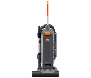 "HOOVER COMPANY CH54115 HushTone Vacuum Cleaner with Intellibelt, 15"", Orange/Gray by HOOVER COMPANY"