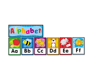 Carson-Dellosa Publishing Co., Inc 119004 Quick Stick Bulletin Board Set, Alphabet by CARSON-DELLOSA PUBLISHING