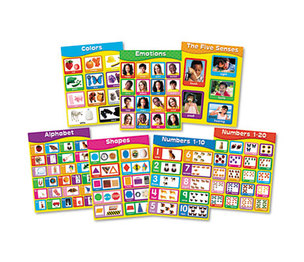 "Carson-Dellosa Publishing Co., Inc 144131 Chartlet Set, Early Learning, 17"" x 22"", 1 set by CARSON-DELLOSA PUBLISHING"