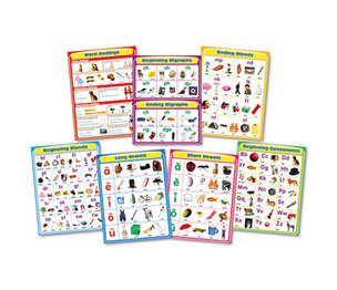 "Carson-Dellosa Publishing Co., Inc 144154 Chartlet Set, Language Arts, 17"" x 22"", 1 set by CARSON-DELLOSA PUBLISHING"