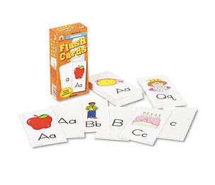 Carson-Dellosa Publishing Co., Inc CD-3907 Flash Cards, Alphabet, 3w x 6h, 80/Pack by CARSON-DELLOSA PUBLISHING