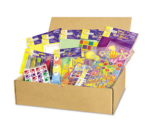The Chenille Kraft Company 1738 Scrapbookin' Kids Class Pack, Assorted Materials by THE CHENILLE KRAFT COMPANY