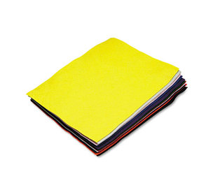 The Chenille Kraft Company 3907-01 Felt Sheet Pack, Rectangular, 9 x 12, Assorted Colors, 12/Pack by THE CHENILLE KRAFT COMPANY