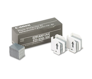 Canon, Inc 0251A001AA Staples for Canon IR550/600/6045/Others, Three Cartridges, 15,000 Staples/Pack by CANON USA, INC.