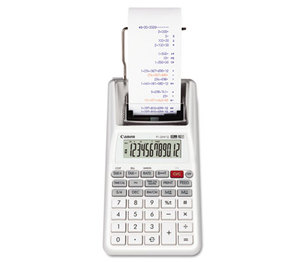 Canon, Inc 3832B001 P1-DHV-G Two-Color Palm Printing Calculator, Purple/Red Print, 2 Lines/Sec by CANON USA, INC.