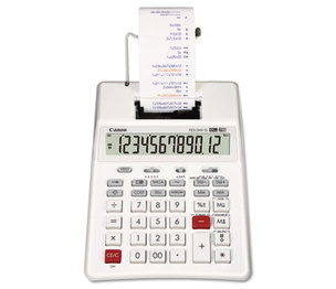 Canon, Inc 3831B001 P23-DHV-G Two-Color Palm Printing Calculator, Purple/Red Print, 2.3 Lines/Sec by CANON USA, INC.