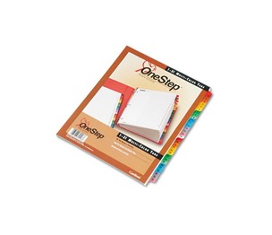 Cardinal Brands, Inc 60118 Traditional OneStep Index System, 31-Tab, 1-31, Letter, Multicolor, 31/Set by CARDINAL BRANDS INC.