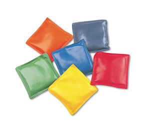 "CHAMPION SPORTS MBB4SET Bean Bag Set, Vinyl, 4"", Assorted Colors, Dozen by CHAMPION SPORT"
